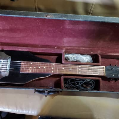 Electromuse Lap Steel 1940's Black for sale