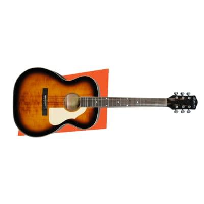 Silvertone Model 600 Orchestra Acoustic Guitar, AVS American Vintage Sunburst for sale