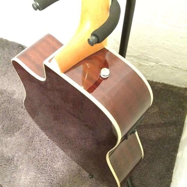fender kingman sce sunburst acoustic electric guitar w reverb. Black Bedroom Furniture Sets. Home Design Ideas