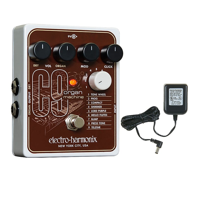 electro harmonix c9 organ machine crazy dave 39 s music reverb. Black Bedroom Furniture Sets. Home Design Ideas