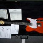 "G&L USA ASAT Classic Clear Orange, G&G case ""Demo"" image"