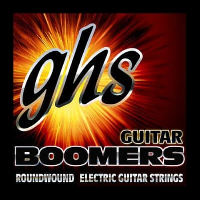 GHS Boomer electric guitar string set, LT, .010