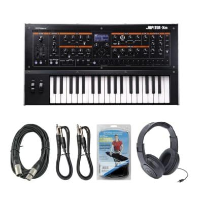 New Roland Jupiter-Xm 37-Key Portable Synthesizer Keyboard + Free Accessories!