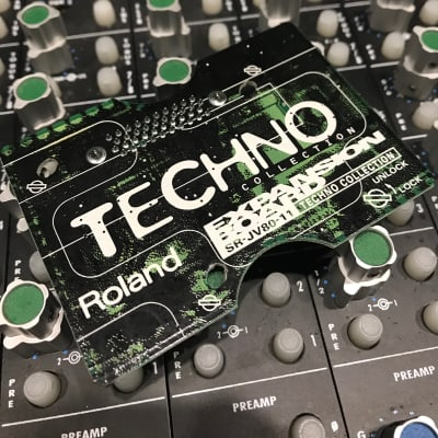 Roland SR-JV80-11 Techno Collection Expansion Board