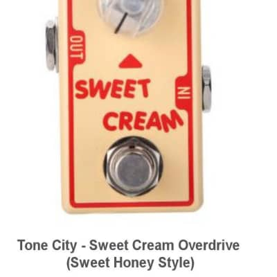 New Tone City T3 Sweet Cream Overdrive Guitar Effects Pedal