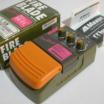 Mint Maxon DE-F1 Fire Blade Delay made in Japan with box 1990s
