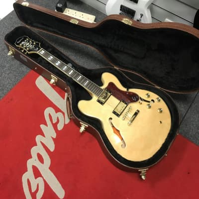 Epiphone Sheraton Pro II with Case - Used, Natural for sale