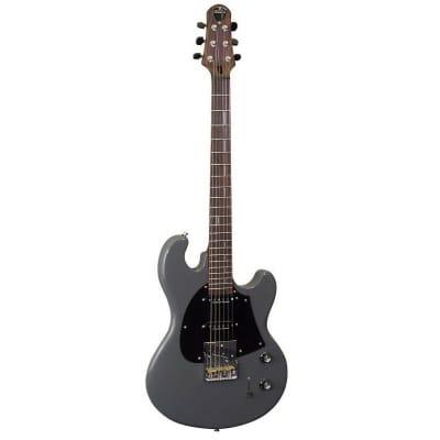 Shergold Masquerader SM03 Solid Battleship Grey Single Coil Electric Guitar for sale