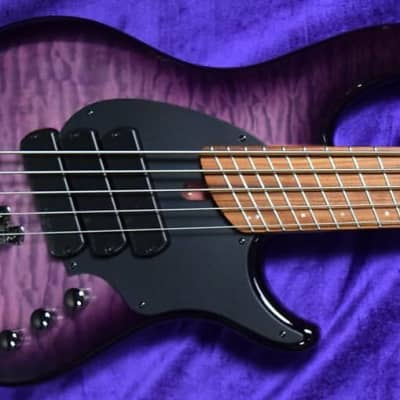 Dingwall Combustion (5-String), Ultra Violet / Pau Ferro / 3 Pickups *Factory Cosmetic Flaw = Save $