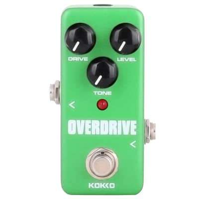 KOKKO FOD3 Overdrive Electric Guitar Effect Pedal Overdrive Pedal True Bypass Full Metal Shell