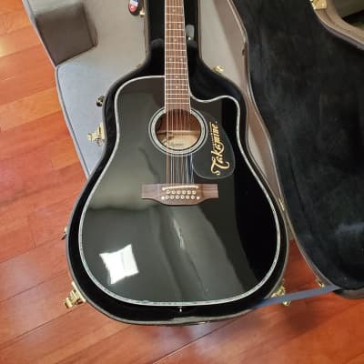 Takamine Takamine EF381 12-String Acoustic-Electric Guitar 2020 Black for sale