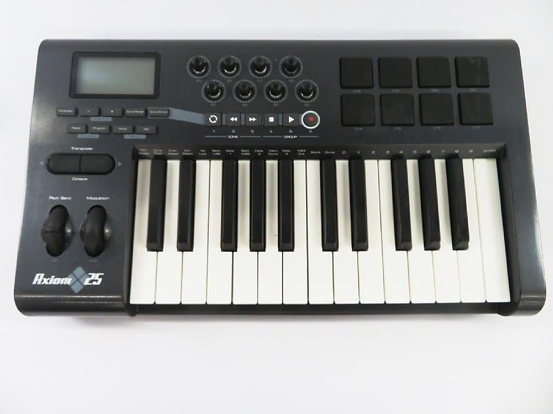 M Audio Axiom Midi Controller : m audio axiom 25 usb midi controller reverb ~ Vivirlamusica.com Haus und Dekorationen