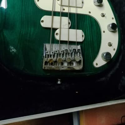 Fender Precision EliteII 1983 Immaculate Gleaming Emerald Green for sale