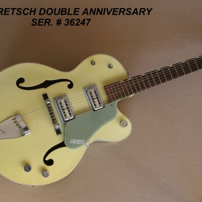 1960 Gretsch Double Anniversary 6118  2 Tone Green