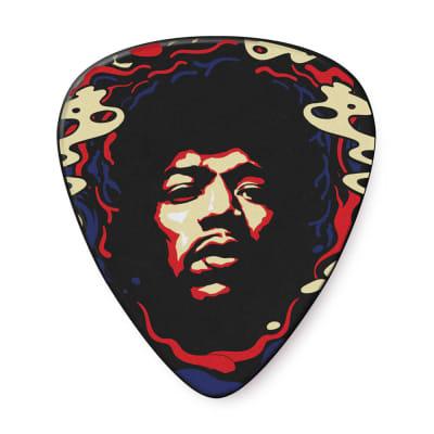 Dunlop JHP15HV Jimi Hendrix '69 Psych Series Star Haze Celluloid Heavy Guitar Picks (6-Pack)