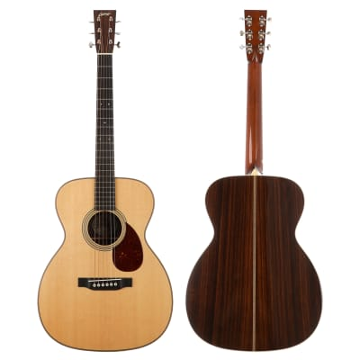 Collings OM2H T Traditional Orchestra Model 14-Fret Acoustic Guitar - Rosewood Back/Sides - Display Model