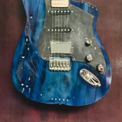 Moxy Guitars M.E. Tuscany Standard 2019 (Blue) for sale