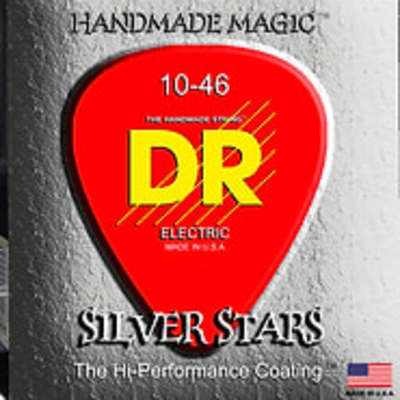 DR 12-52 Strings Silver Stars Electric Guitar Strings