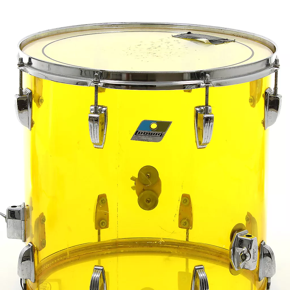 1970s ludwig vistalite 16x16 floor tom with reverb for 16x16 floor tom