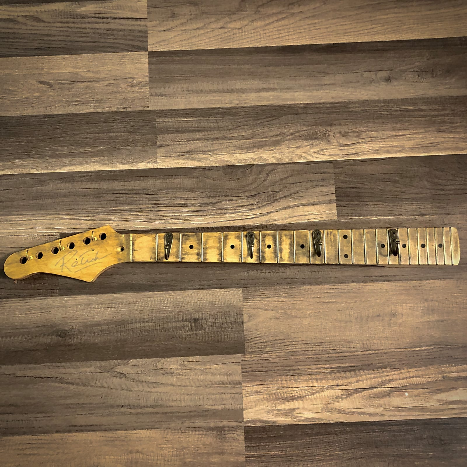 Guitar Neck Coat Rack