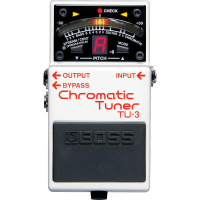 Boss Compact Pedal Tuner TU-3 for sale