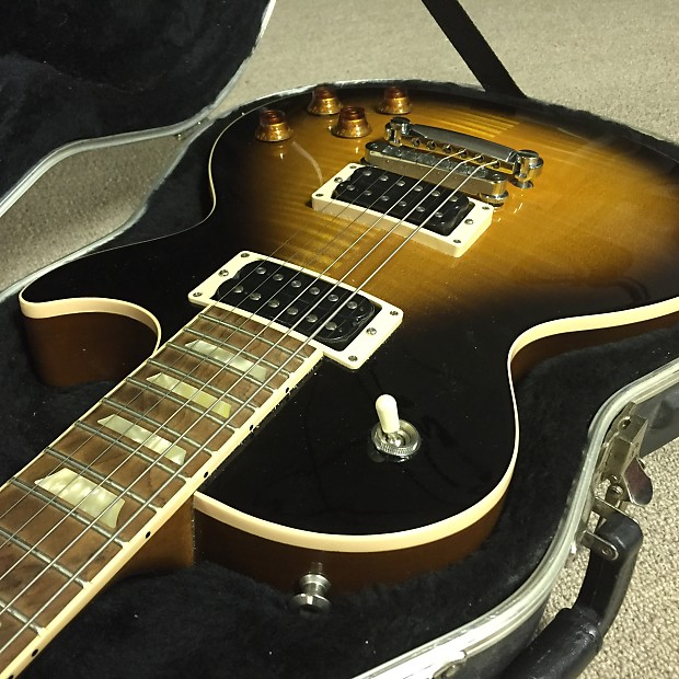 Gibson Les Paul Classic Plus 2011 Tobacco Burst Reverb