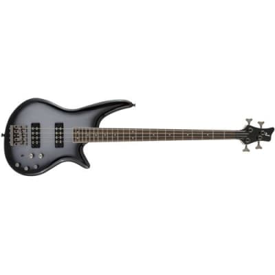 Jackson JS Series Spectra Bass JS3 Electric Guitar, 24 Frets, Bolt-On Neck, Laurel Fingerboard, Silverburst