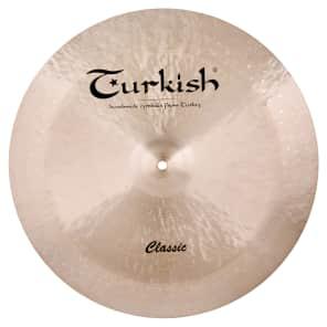 "Turkish Cymbals 20"" Classic Series Classic Swish Cymbal C-SW20"