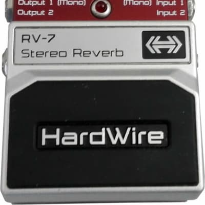 Digitech Hardwire RV-7 Lexicon Stereo Reverb for sale