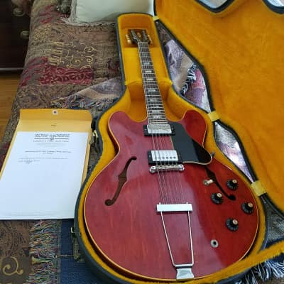 12 String Guitar  - Alvin Lee - 10 Years After  - Woodstock 1966 (with provenance) for sale