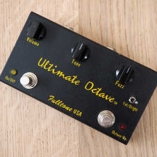 Fulltone Ultimate Octave Boutique USA Made Octave Fuzz Guitar Effect Pedal