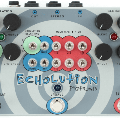 PIGTRONIX Echolution Delay Original NEW