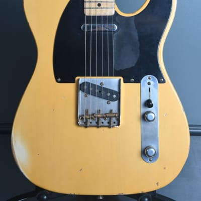 1997 Fender Custom Shop '51 Relic Nocaster Vince Cunetto Aged Blonde OHSC for sale