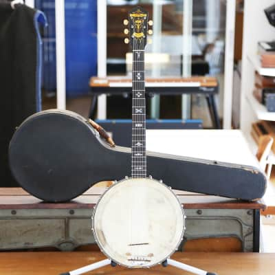 1930s Bruno Tempo Grande No. 1 Vintage 6-String Banjo