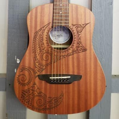 Luna Safari Tattoo Travel Guitar