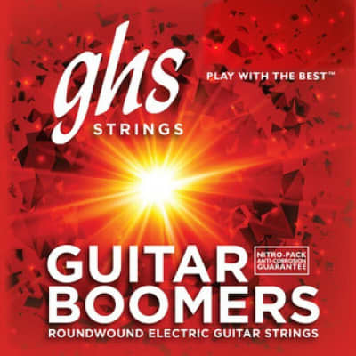 GHS strings Electric Guitar Medium Boomers Set