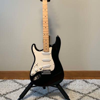 1989 Fender American Standard Stratocaster Lefty/Left Handed Black for sale