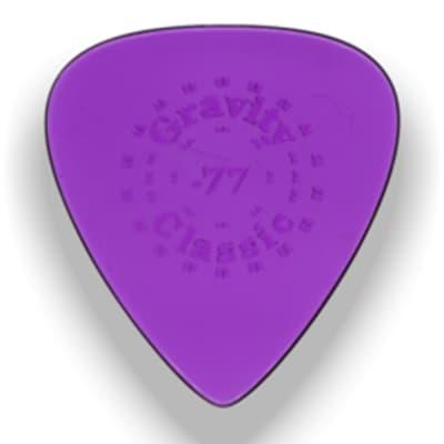 Gravity Picks Classic Standard Polished Pick, 0.77mm, Purple