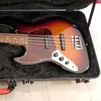 Lefty Fender American Jazz Bass 2016 Burst for sale