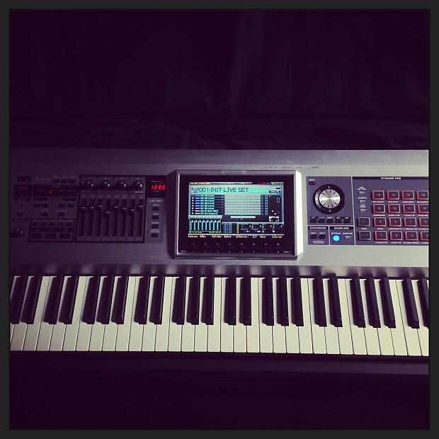 roland fantom g8 88 key workstation synth keyboard reverb. Black Bedroom Furniture Sets. Home Design Ideas