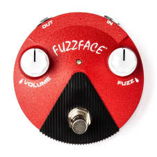 Dunlop FFM6 Band of Gypsys Fuzz Face Mini Distortion Jimi Guitar Effects Pedal