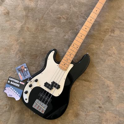 NEW! Hohner Made In Korea Professional Series  Left Handed Black Finish/Maple Neck PJ Bass Guitar for sale