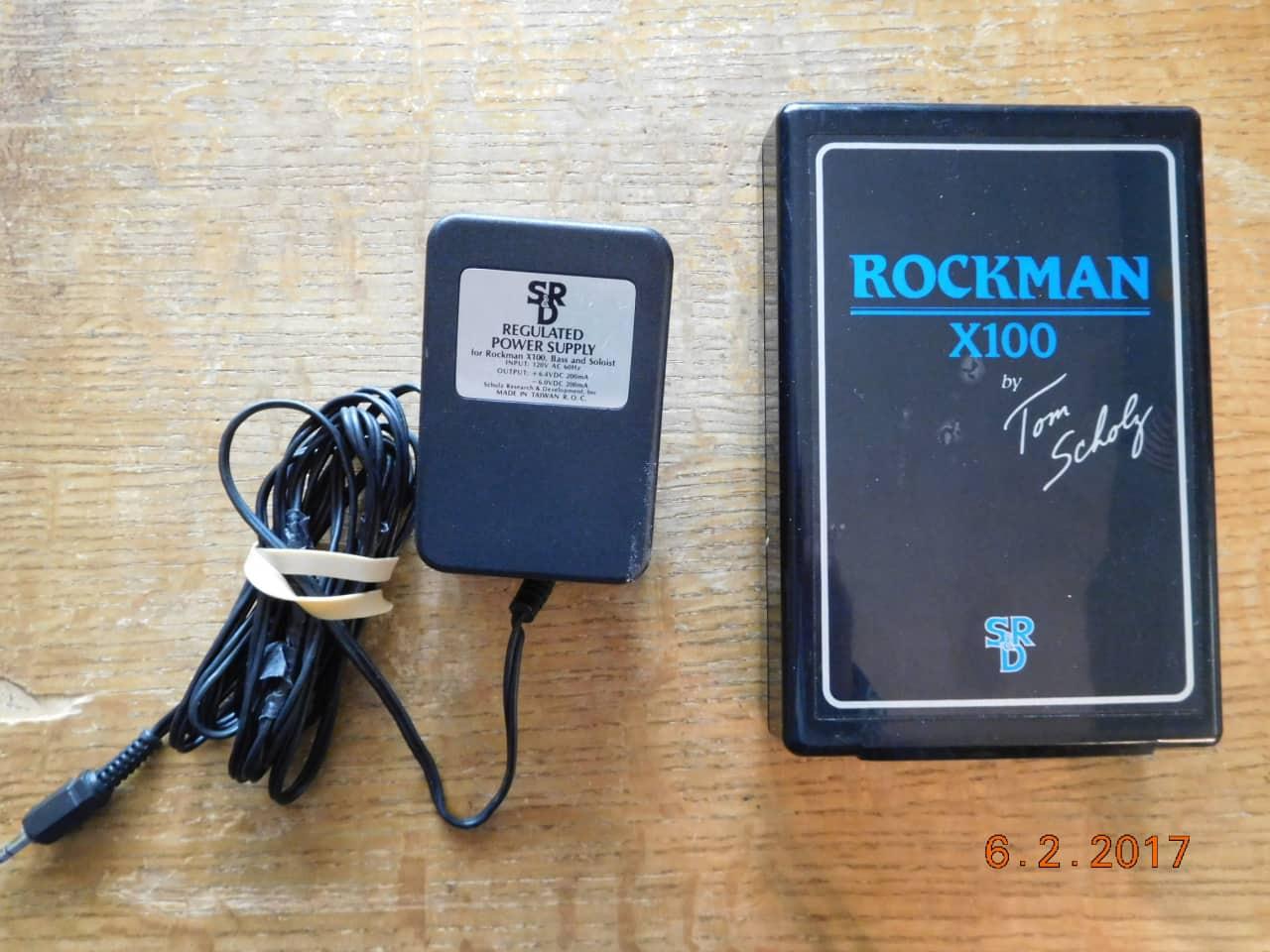 rockman x100 r 10 guitar belt amp by tom scholz reverb. Black Bedroom Furniture Sets. Home Design Ideas