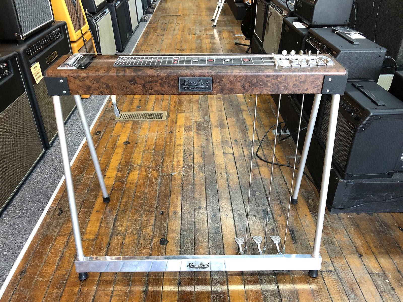 Sho Bud Model 6152 Maverick 10 String Pedal Steel 1975 W Original Case And Materials