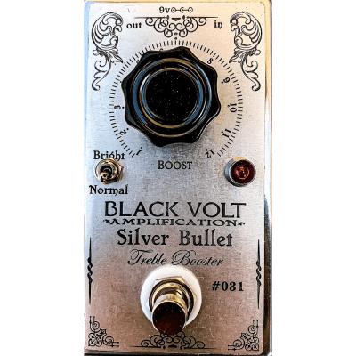 Black Volt Silver Bullet Treble Booster Pedal for sale