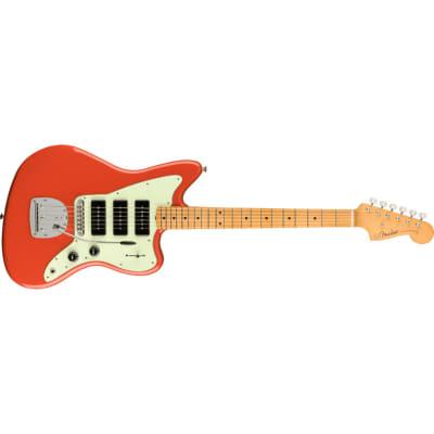 Fender Noventa Jazzmaster - Maple, Fiesta Red for sale