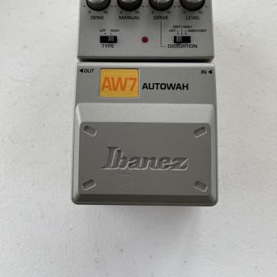 Ibanez AW7 Tone-Lok Auto Wah Envelope Filter Distortion Rare Guitar Effect Pedal