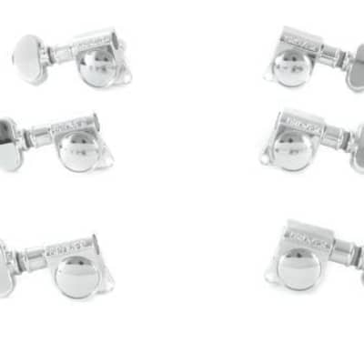 Grover GV406C Mini Rotomatics Locking Tuner Set -3L/3R Chrome