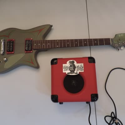 LACE RAT FINK ELECTRIC GUITAR WITH RF 10 WATTS GUITAR RESEARCH AMPLIFIER for sale