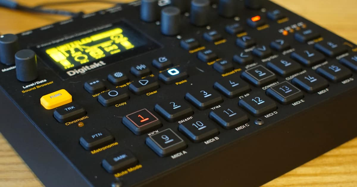 Why the Elektron Digitakt is the Do-It-All Digital Music